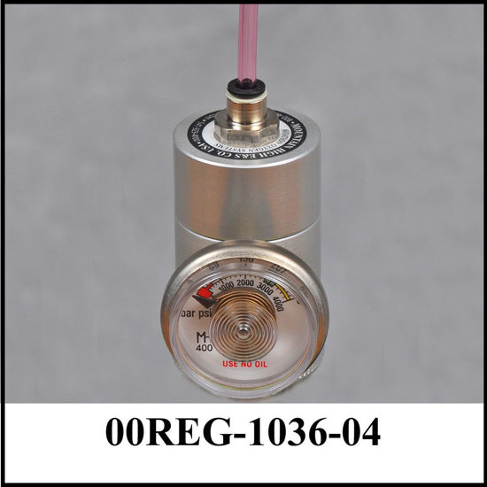 Regulator with gauge