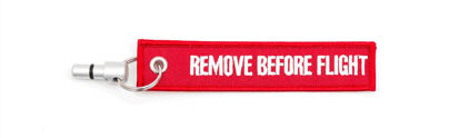 Remove before flight plug